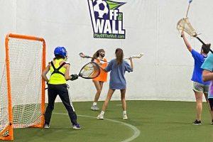 indoor lacrosse practice Coastal Rays Lax