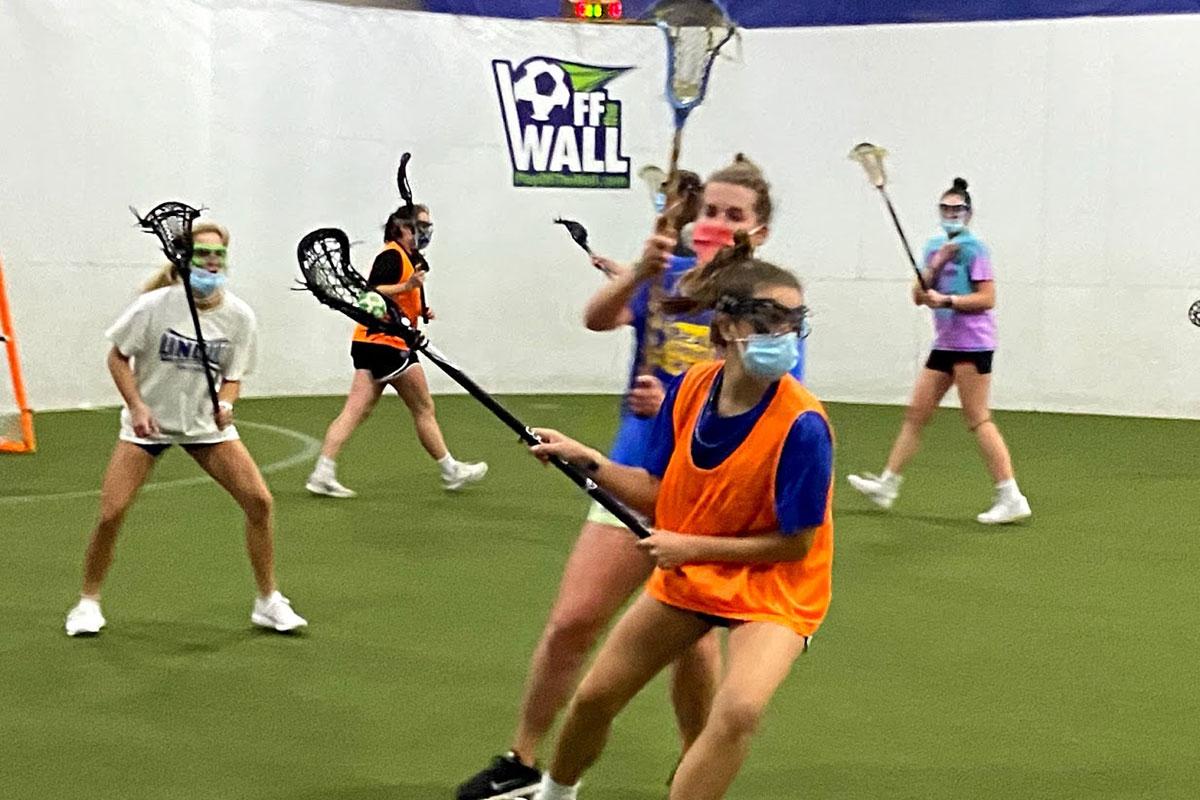Indoor lacrosse Coastal Rays