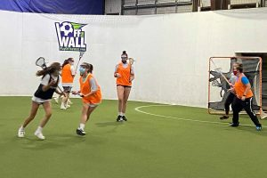 Coastal Rays Lacrosse Winter practice at Off the Wall